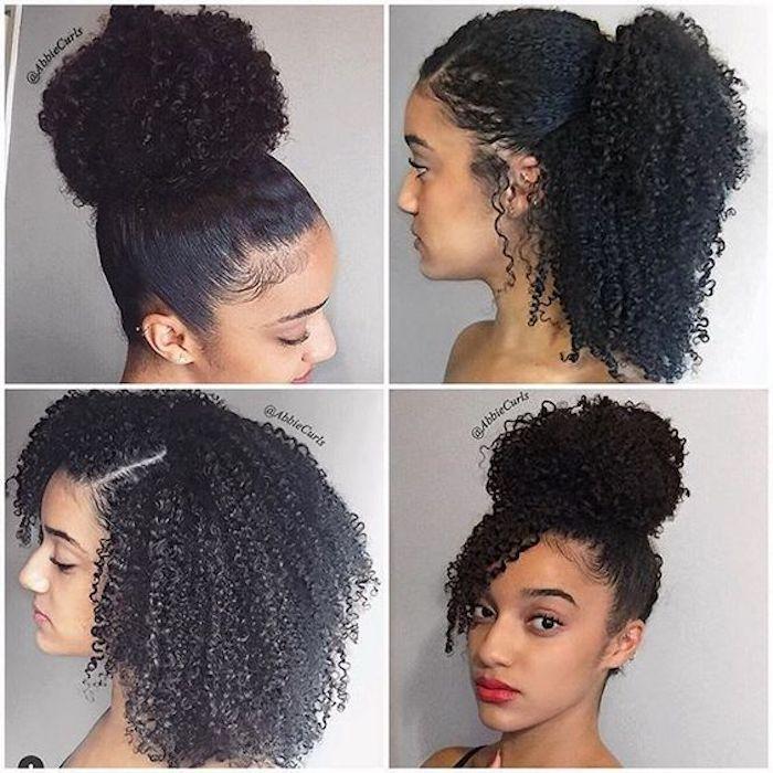 Chignon africaine coiffure modele de tresse coiffure tresse afro