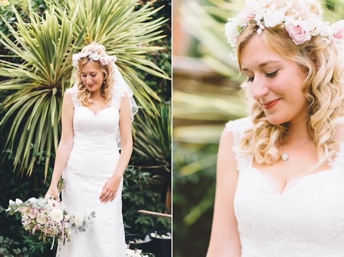 Champetre mariage robe de mariée vintage robe mariage champetre