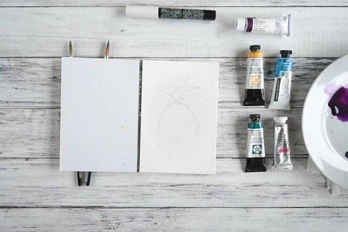 Diy simple deco faire soi meme activité manuelle printemps activite enfant activité créative peindre une peinture eau couleur