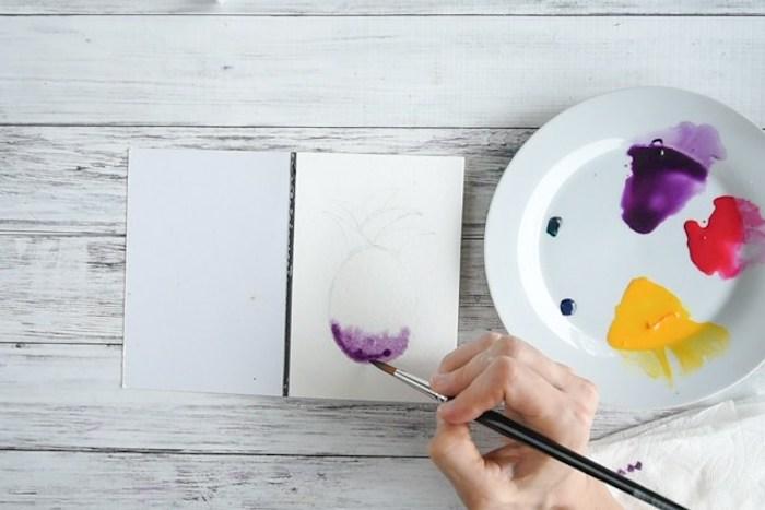 Activité manuelle hiver activite enfant idées pour vos projets diy été cool idée peinture d ananas simple à réaliser