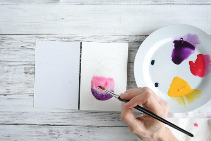 Activités manuelles enfants activite enfant idées loisirs créatifs activites faciles cool idée watercolor
