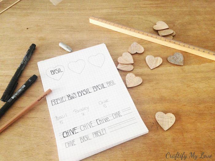 Idée d activité manuelle activite enfant activiter manuelle idées loisirs créatifs 4 ans activite enfant coeur note de plante