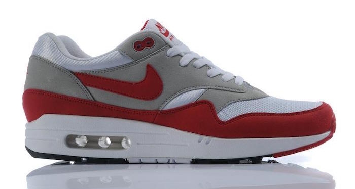 chaussure homme tendance nike air max one rouge originales red og
