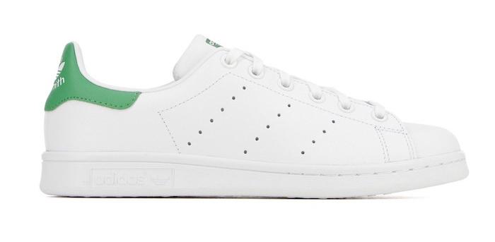 chaussure homme tendance été 2018 style tennis blanches adidas stan smith rétro