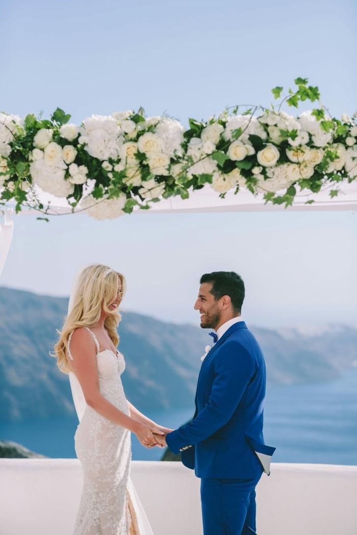 Chouette idée robe de mariée collection 2018 mariage chouette robe pour femme mariée Santorini mariage