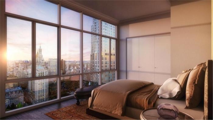 Chambre complete adulte boheme chic chambre déco arrangement parfait chambre adulte avec vue magnifique de new york