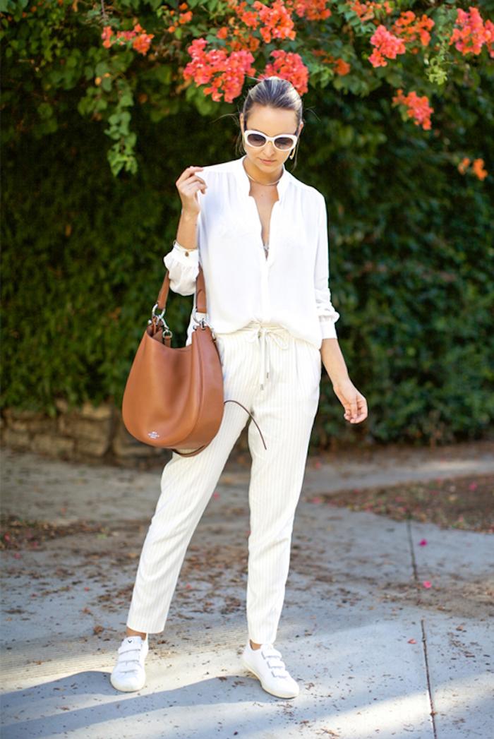 Cool tenue basket femme compensée quelles chaussures sport avec tenue décontractée tenue basket blanche tenue tout blanche