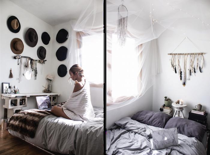 Chambre adulte complete pas cher cool idée décoration belle déco de chambre à coucher étroite cosy déco rustique contemporaine