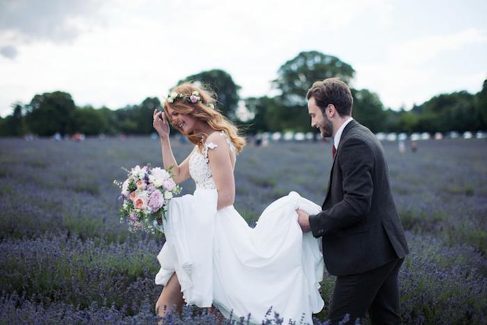 Robe de mariée longue en dentelle image de la plus belle robe de mariage pour 2018 femme couple qui se marie