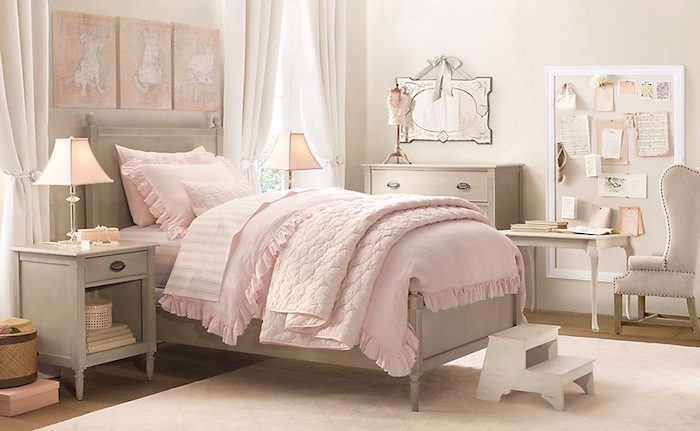 1001 id es chambre petite fille dans le domaine de. Black Bedroom Furniture Sets. Home Design Ideas
