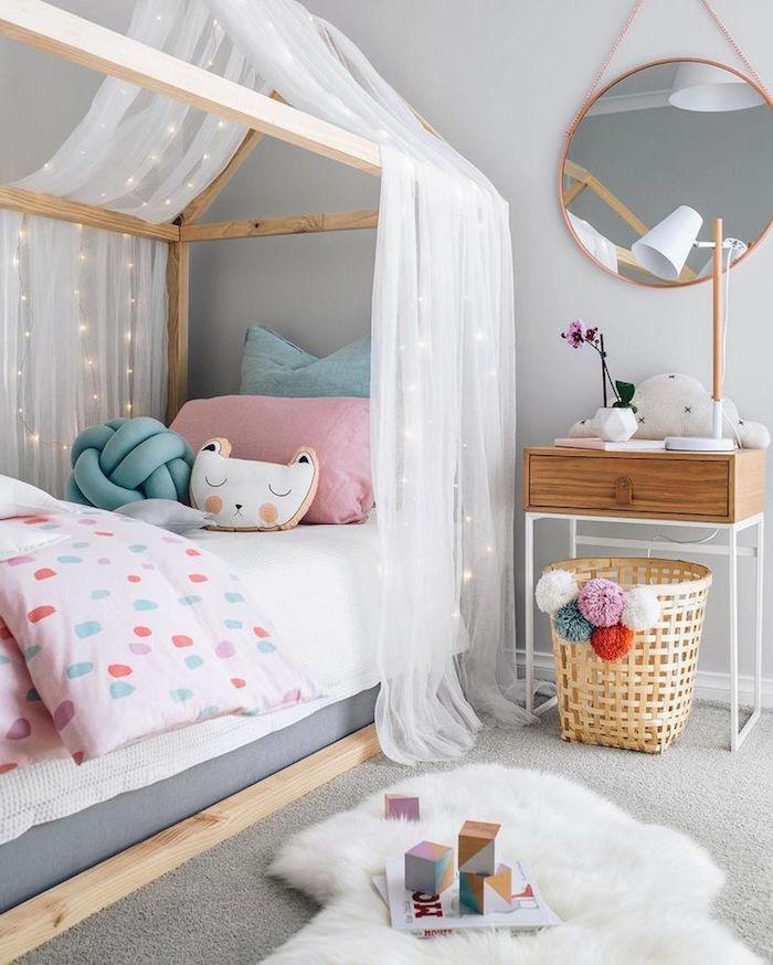 1001 id es chambre petite fille dans le domaine de - Chambre scandinave fille ...