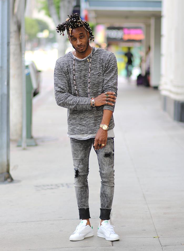 adidas stan smith les chaussures homme à la mode simples qui vont avec tout