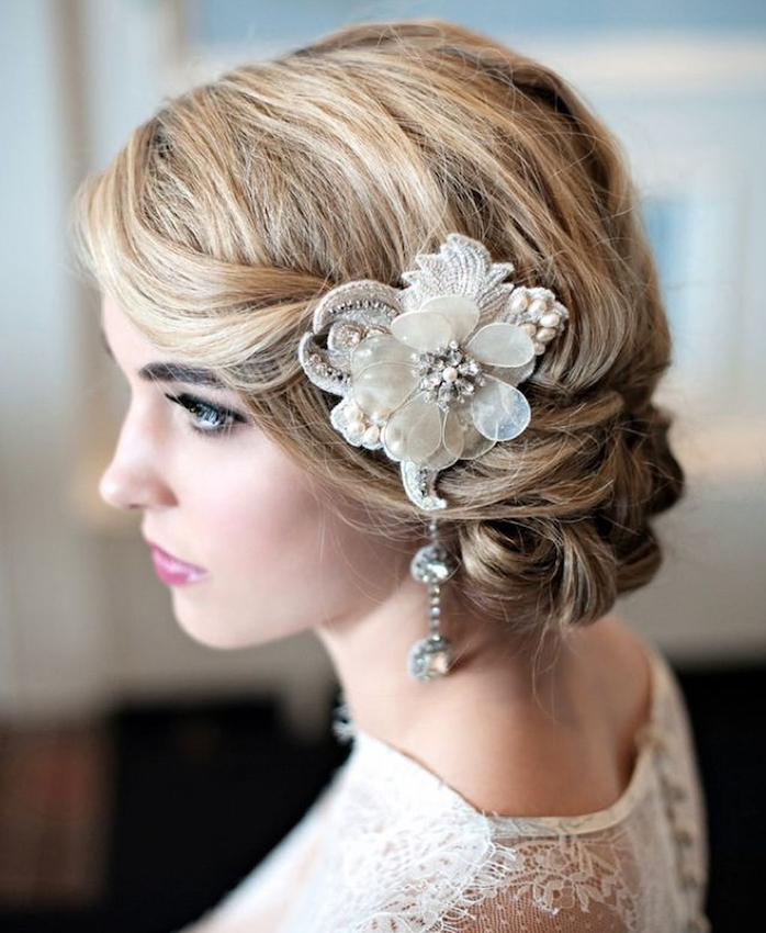 1001 Idees Pour Une Coiffure Mariage Cheveux Courts