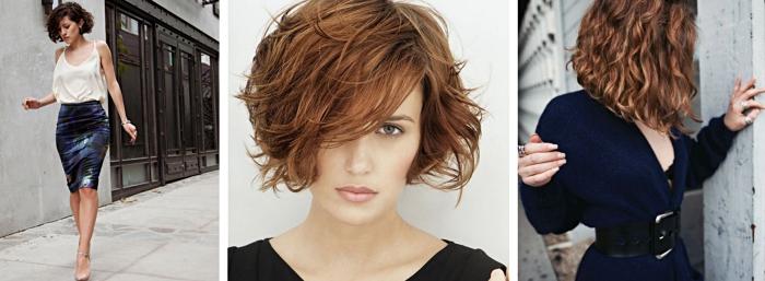 idée coiffure avec carré flou pour cheveux fins, donner du volume à ses cheveux avec coiffure wavy et boucles