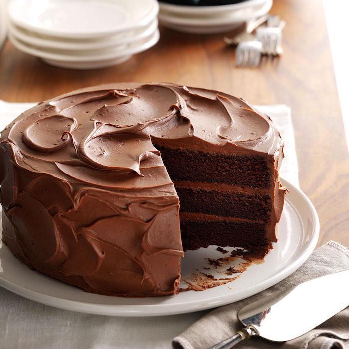 Gateau rapide au chocolat recette facile gateau avec genoise pour gateau
