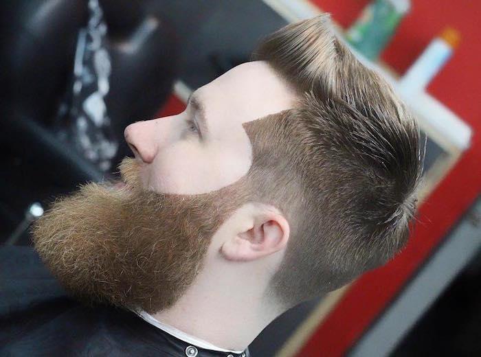 comment tailler sa barbe hipster longue et epaisse avec contours au rasoir