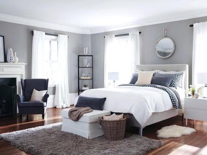 Deco chambre moderne amenagement tencance design contemporaine chambre simple classe déco