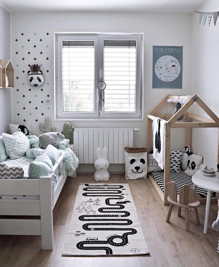 1001 Idees Chambre Bebe Scandinave Le Blanc De L Innocence