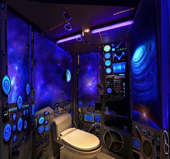 1001 id es d co toilettes originales changer le train train quotidien - Decoration wc originale ...