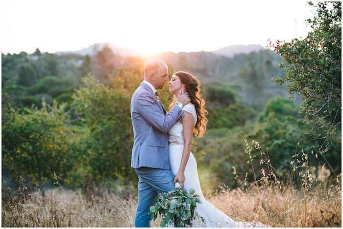 La plus belle robe de mariée romantique être la plus belle mariée robe à choisir bohème chic robe deux pieces dentelle cropped top