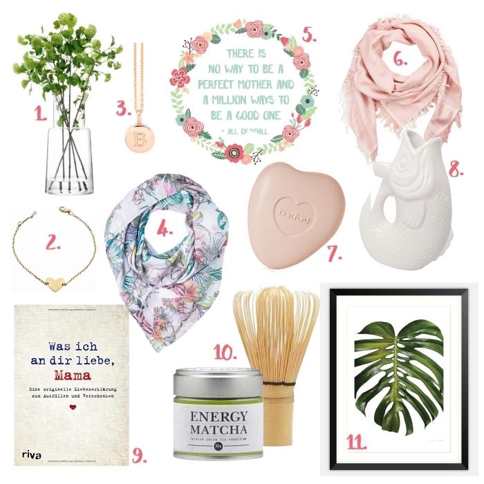 comment choisir un cadeau pour maman de style mode, accessoires et objets décoratifs pour intérieur moderne