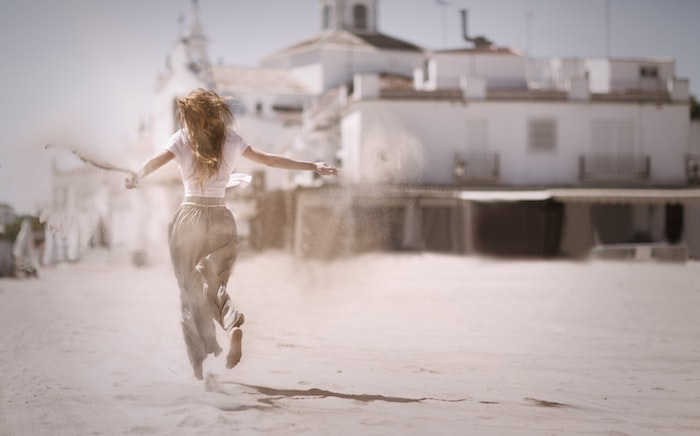 Robe blanche longue boheme cool idée robe blanche dentelle boheme robe sable femme heureuse