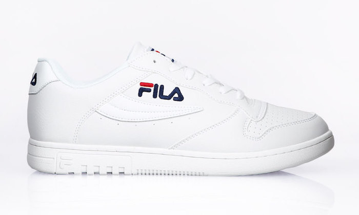 quelle chaussure homme ete 2018 blanches style baskets retro basses fila fx 100 low white
