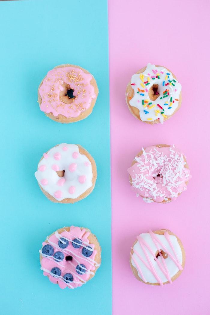 Fond d'écran paysage wallpaper fond d'écran fond d'écran pour fille doughtnuts couleur pastel cool idée fond d ecran gourmand
