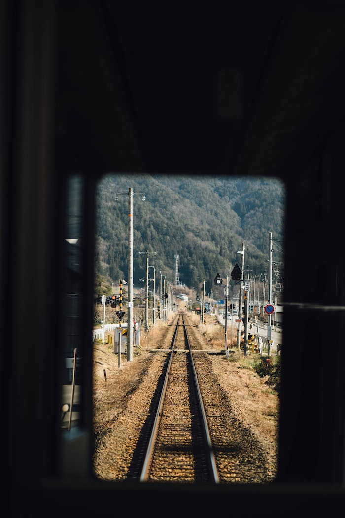 Fond d'écran hd tumblr fond d'écran verrouillage pour les cool kids image de train fer lignes cool image perspective