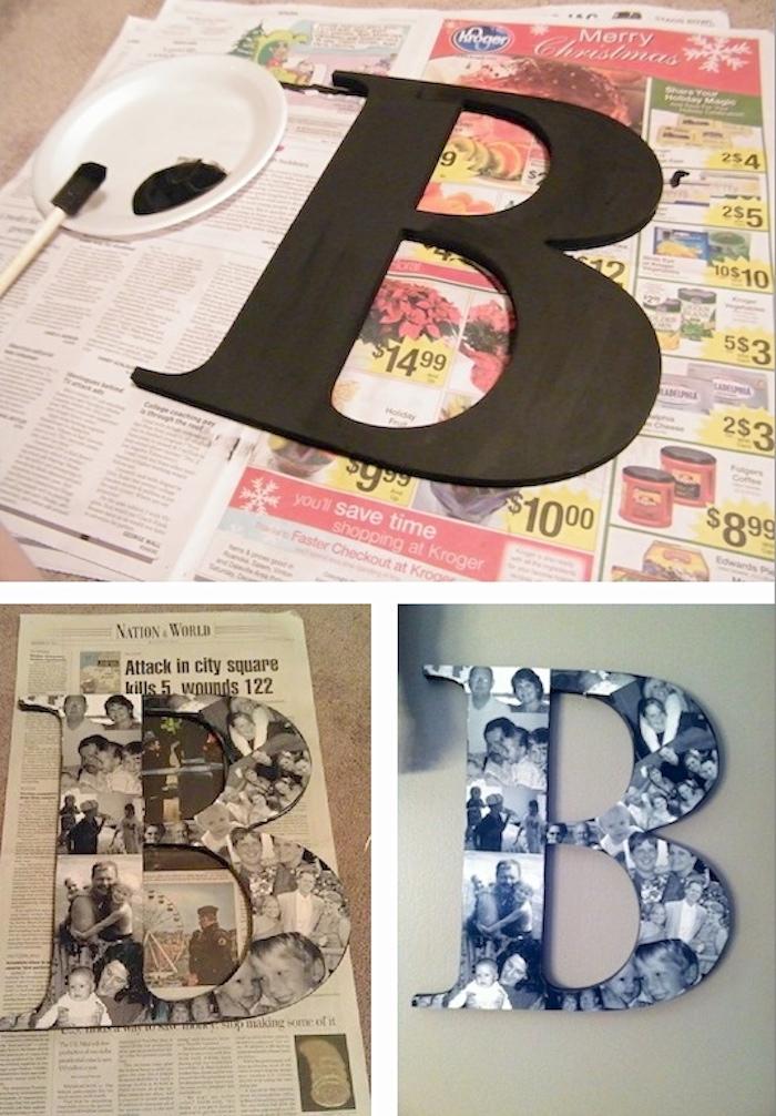 Activités manuelles 6 12 ans activite enfant faire soi même idée pour petits et grands lettre collage