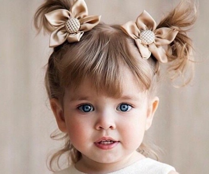 Coupe enfant fille coiffure petite fille mariage coupe carre enfant frange coiffure adorable