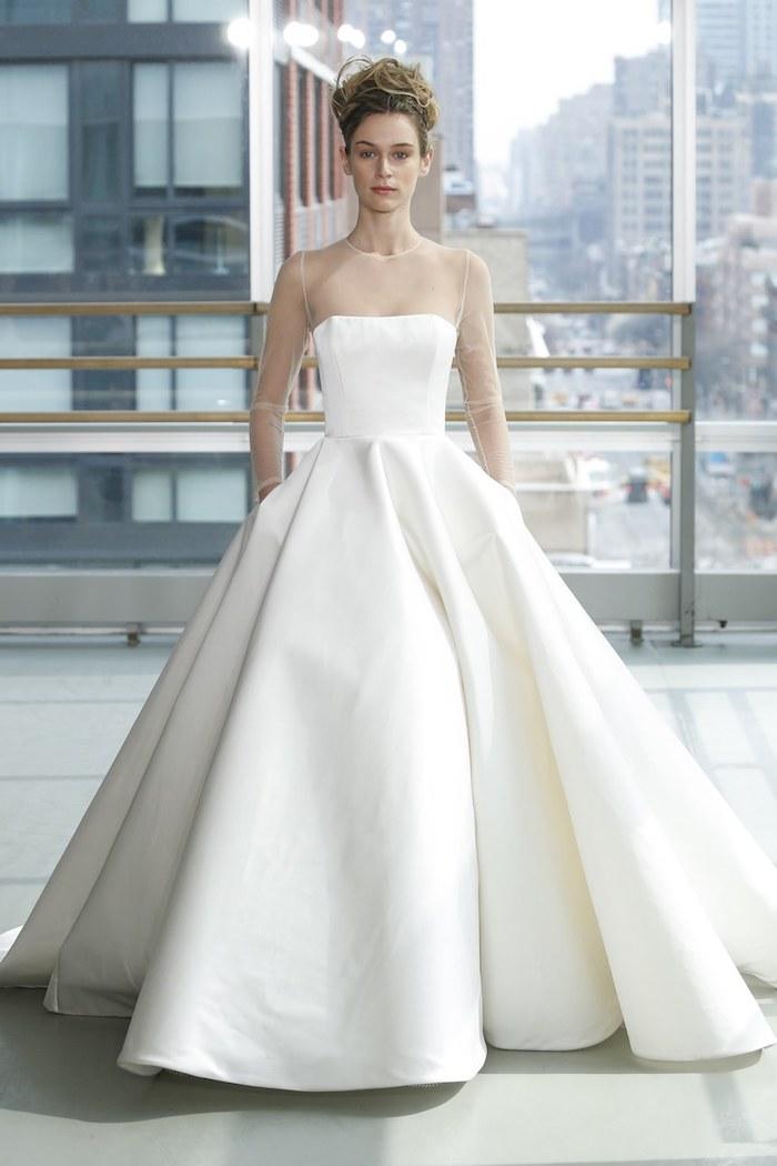 Magnifique robe de mariée les mariées de rennes choisir la marque de sa robe de mariée longue blanche style princesse
