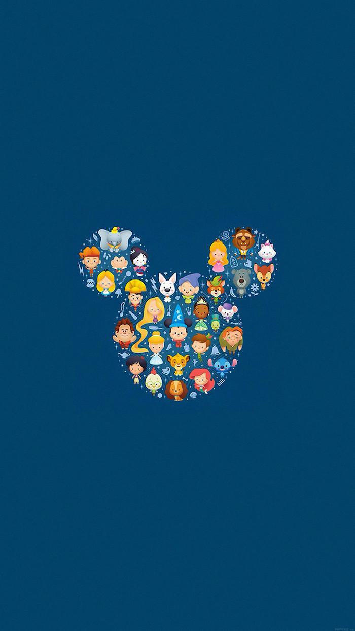 Fond d'écran paysage fond d'écran swag image de beauté simple ecran Disney caractères silhouette Mickey Mouse