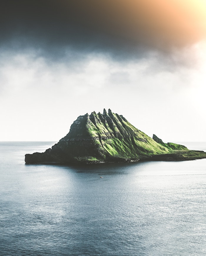 Le meilleur fond d'écran macbook air wallpaper fond d'écran idée simple de photo d'ile océan adorable