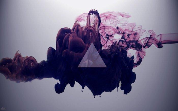 Arrière plan pour fille swag fond d'écran pyramide de couleurs dans l'eau ecran de verrouillage iphone chouette idée