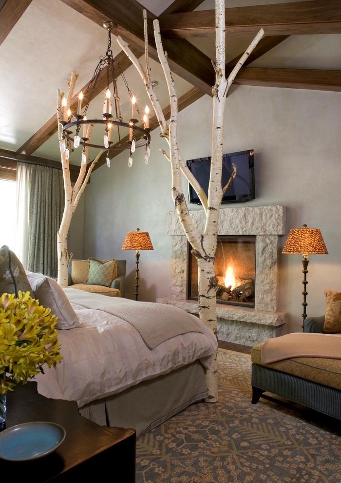 La chambre à coucher zen pour se sentir à l'aise ambiance calme chouette chambre elements déco vintage medievale