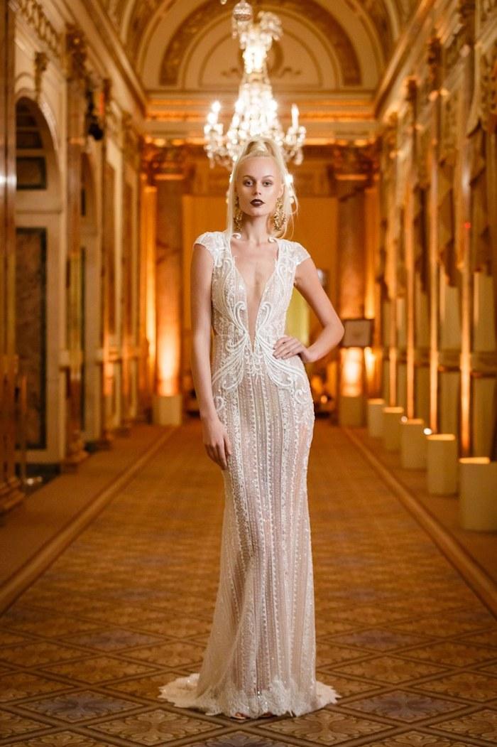 Tendance mariage 2018 beauté femme robe originale mariage photo chouette robe de mariee sirene