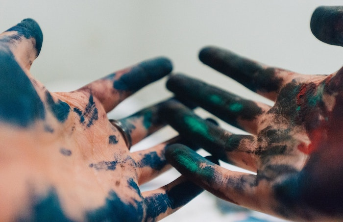 Idée fond d'ecran girly fond d'écran tumblr fond d'écran nature idée photo a utiliser mains avec peinture