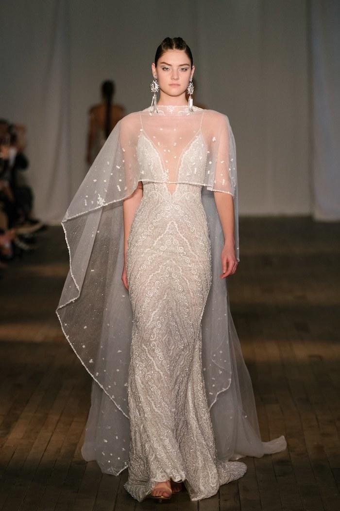 Chic robe de mariée haute couture les robes de mariage robe de mariée stylée femmes originale top