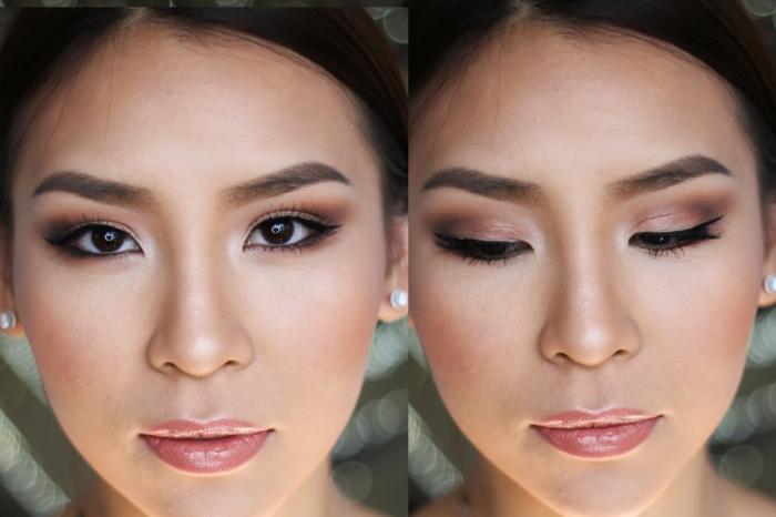 lèvres couleur sucrée, maquillage mat et contouring parfait, réussir le maquillage simple