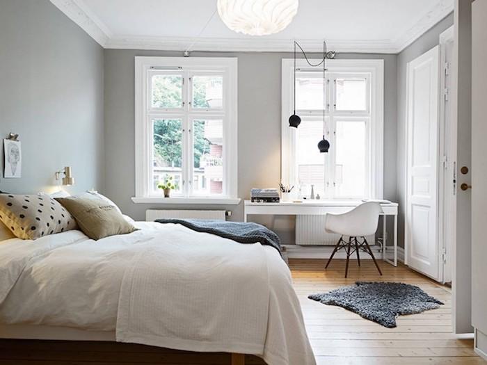 Armoire encastree chambre adulte aménager la chambre a coucher cool idée à réaliser chambre cosy scandinave design