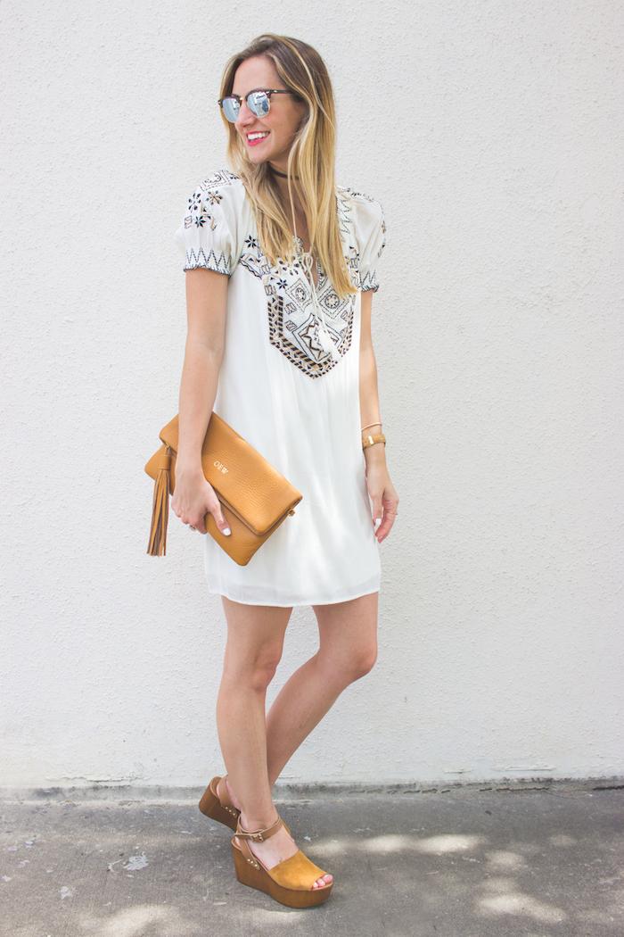 Vetement boheme robe de soirée blanche moderne robe boheme mode été robe femme comment accessoiriser une robe blanche robe vacances été