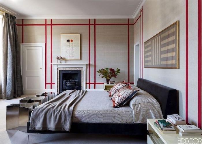Chambre complete pas cher deco pour chambre à coucher aménagement décoration murale originale