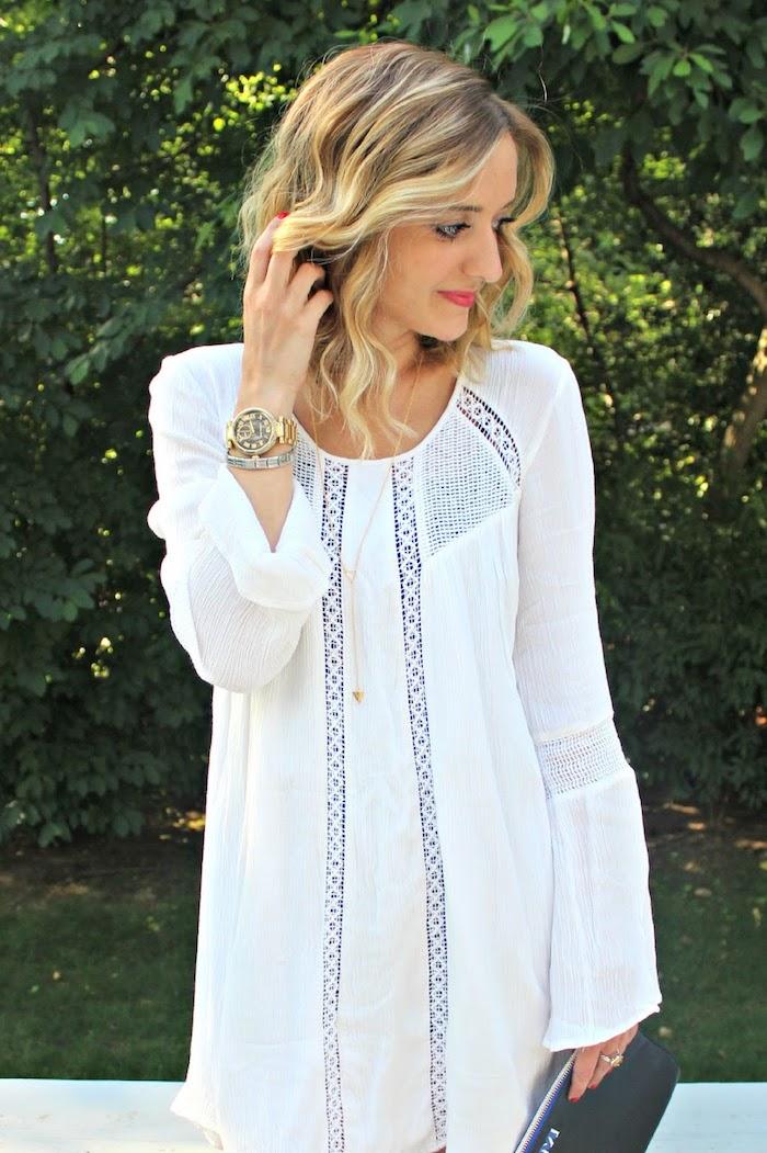 Chouette robe longue fendue robe été longue robe blanche boheme cool idée comment s habiller aujourd hui tenue chic pour les vacances d ete