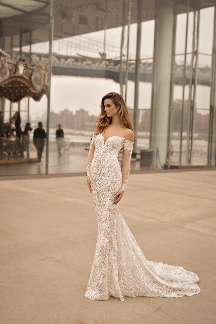 Robes de mariée 2018 quelle robe choisir pour son mariage idée romantique beauté féminine sirene robe magnifique luxe