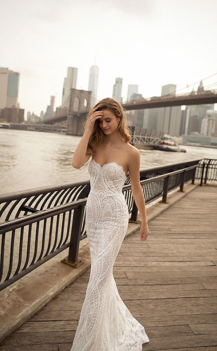 Chic robe de mariée haute couture les robes de mariage robe de mariée stylée femmes