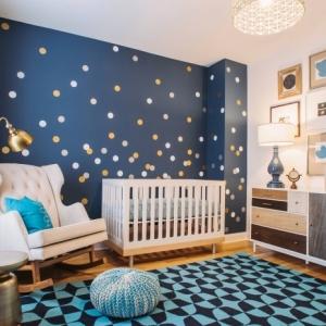Chambre bébé garçon - astuces et idées pour déco comme jeu d'enfant