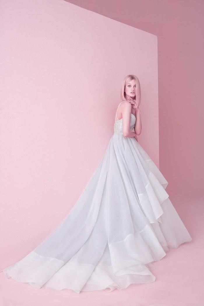 Robe de mariée 2018 pronuptia robe de mariée classe mariage photo robe magnifique longue jupe fleur