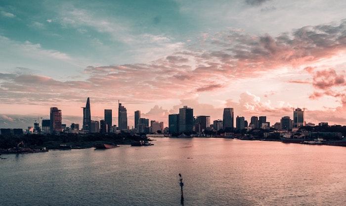 Le fond d'écran paysage fond d'écran tumblr fond d'écran téléphone wallpaper fond d'écran amérique image au cocher de soleil ville grattes en ciel