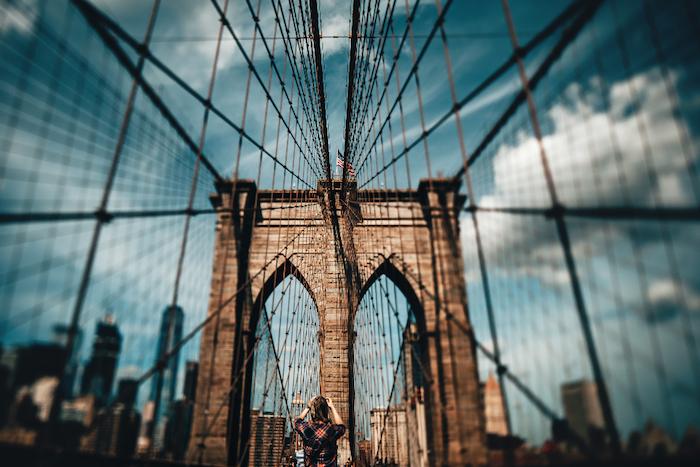 Wallpaper fond d'écran tumblr idée fond ecran tumblr stylée image à utiliser new york photo brooklyn pont manifique photo